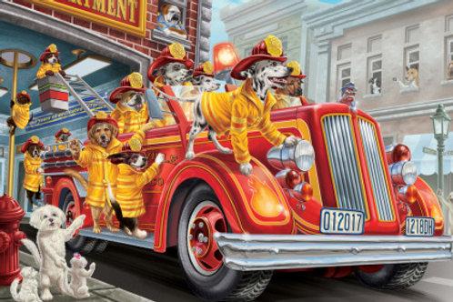 Fire Truck Pups Kid's Jigsaw puzzle