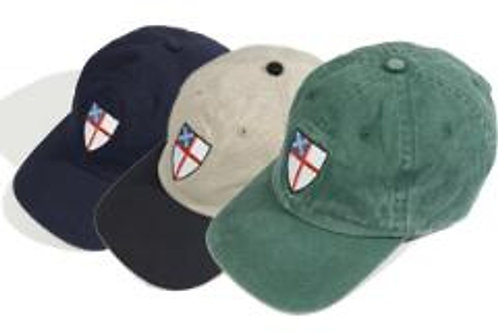 Episcopal Shield Caps, Khaki