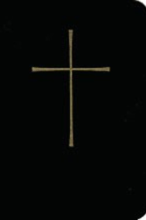 Book of Common Prayer (BCP) Deluxe Personal, Black