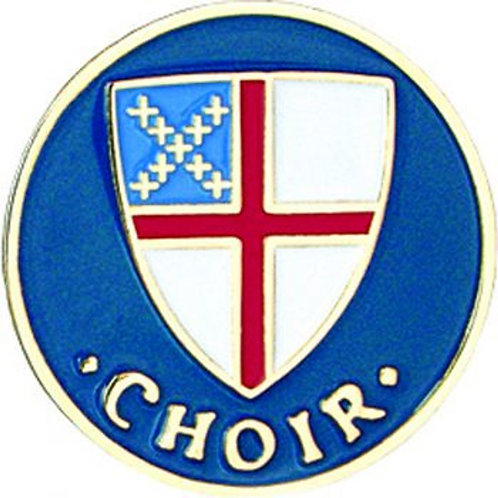 Episcopal Shield Choir Pin