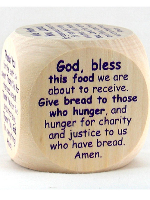 The Original Mealtime Prayer Cube