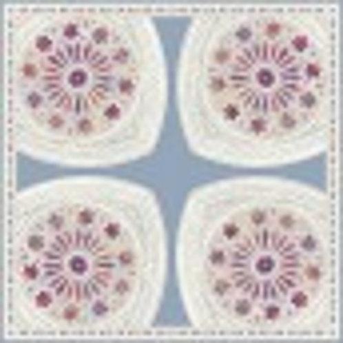 Creation Rose Window Silk Scarf
