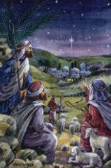 Yonder Star Advent Calendar w/Env