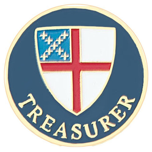 Episcopal Treasurer Pin