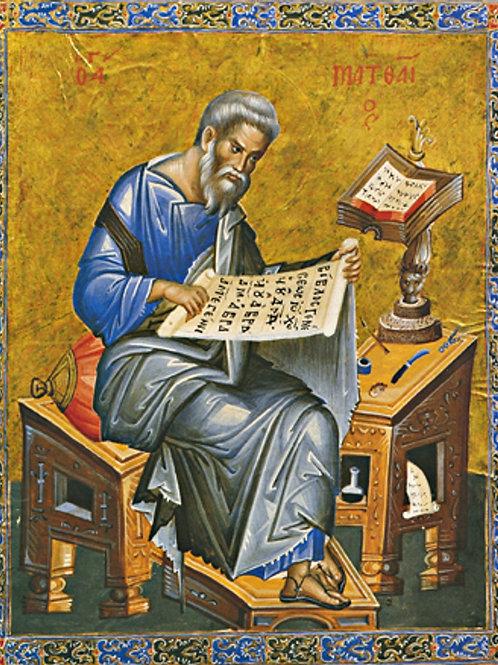 Matthew the Evangelist (Illum. Manuscript)