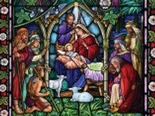 Evening Nativity Advent Calendar