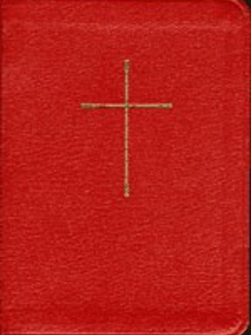 Book of Common Prayer (BCP) and Hymnal 1982, Red