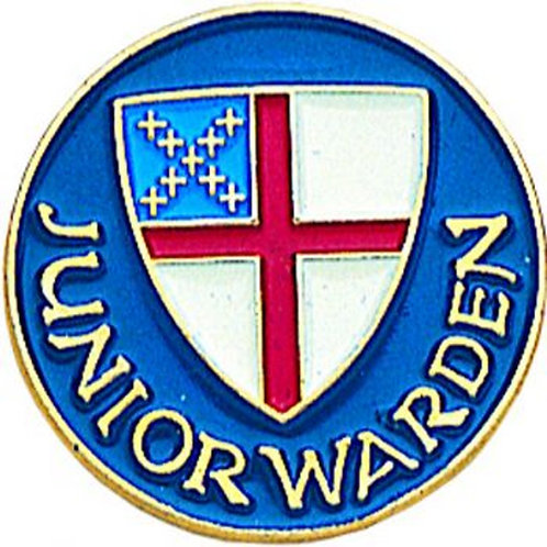 Episcopal Junior Warden Pin