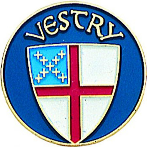Episcopal Vestry Pin