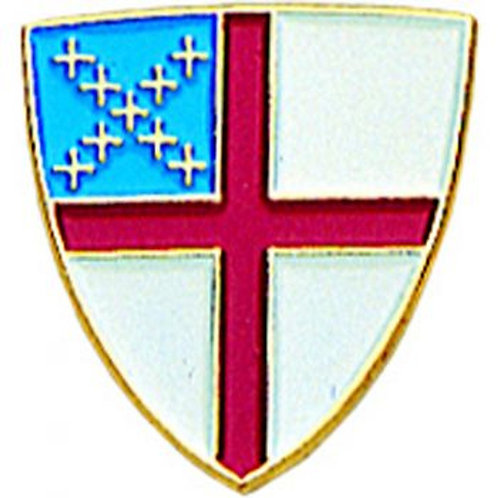 Episcopal Shield Pin