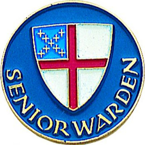 Episcopal Senior Warden Pin