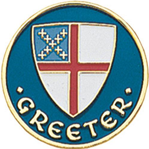 Episcopal Greeter Pin