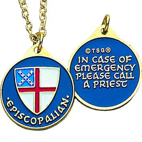 Episcopal Shield Identity Pendant