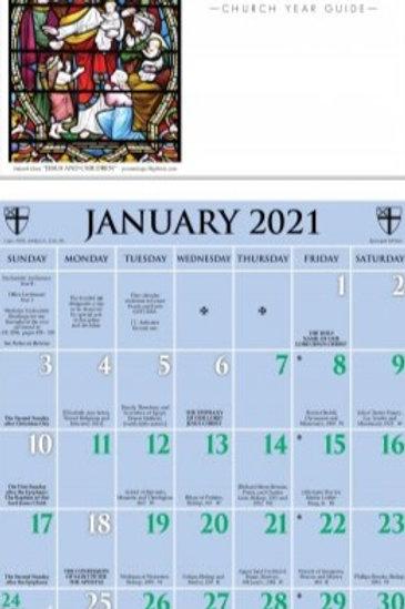 2021 Episcopal Kalendar