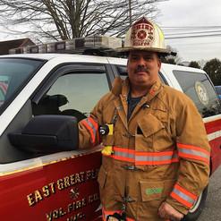 Fire Chief Keith Milton