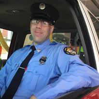 Firefighter James Malchman