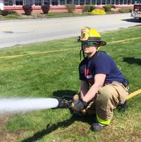 Firefighter Kyle Wilson