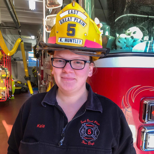 Firefighter Kala Huntley