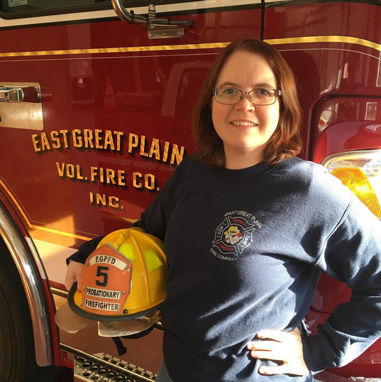 Probationary Firefighter Jennifer Fitts