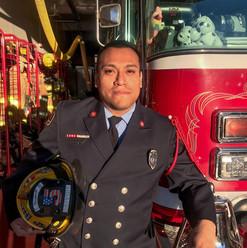 Firefighter Stephen Grivois