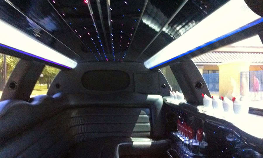 • LED Lighting System • Sound System • Wrap Around Limo Style Seating  • Built In Bar