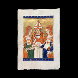 I now pronounce you wife & wife. After a 15th century manuscript. By Fernando Safont