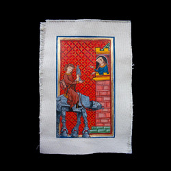 Where the fuck is your horse? After a page of the Codex Manesse, 1340. By Fernando Safont.