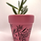 Thumbnail: Pink Leaf Plant Pot