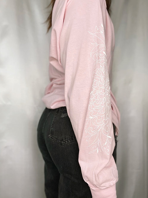 Fleur Longsleeve-Pink
