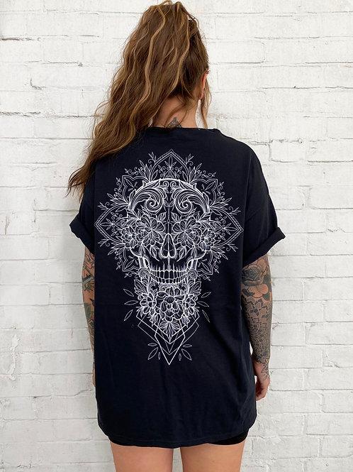 Skull Tee- Black