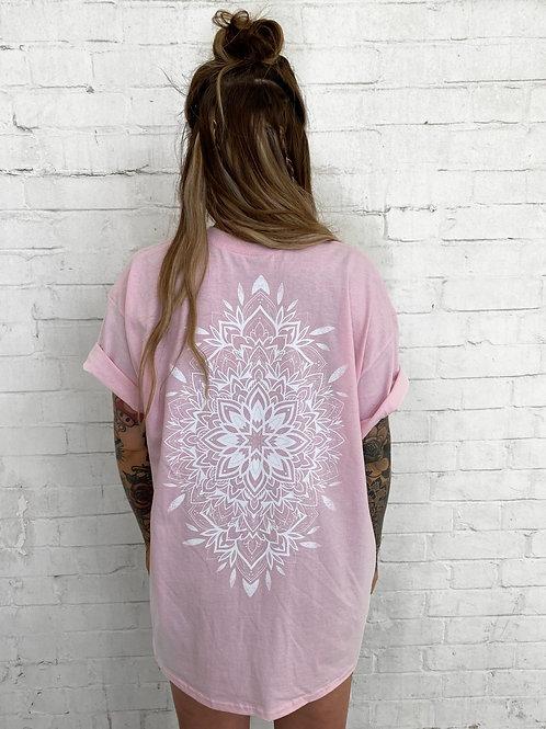 Mandala Tee- Pink