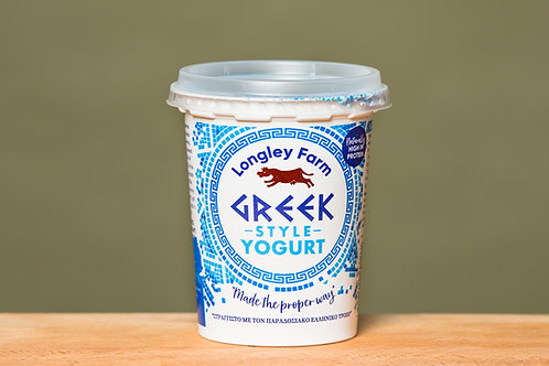 LONGLEY FARM GREEK STYLE YOGHURT (300ML)