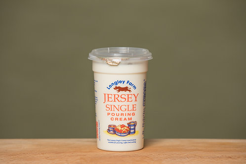 LONGLEY FARM JERSEY SINGLE POURING CREAM(150ML)