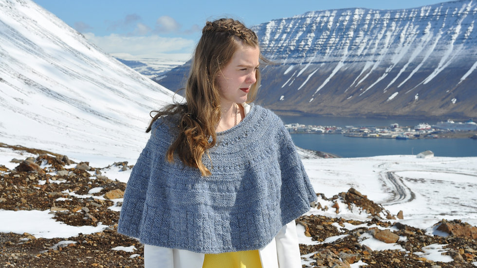 Heiðlóa, Sjalapakki, bók og garn