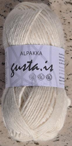1000- White,  Gústa Alpaca yarn