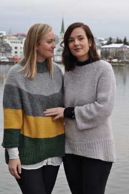 Fjóla sweater - Knitting kit from Mosa Mjúkull