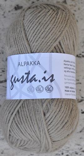 2400- Beige,  Gústa Alpaca yarn
