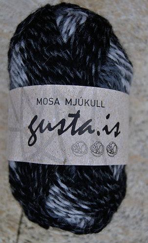 2400 - Gray bomb,  Mosa Mjukull yarn