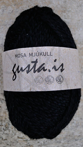 2000 - Black,  Mosa Mjukull yarn