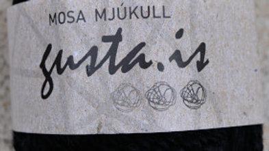 2000 Svartur Mosa mjúkull garn