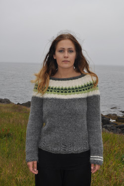 gola knitted sweater