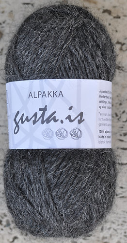 2100- Coalgray,  Gústa Alpaca yarn