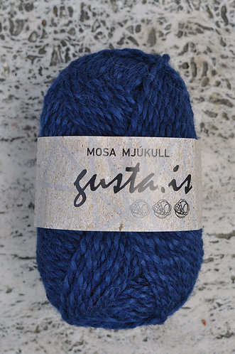 5500 - Navy blue,  Mosa mjukull yarn