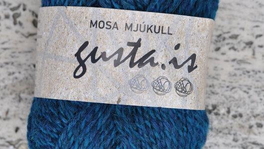 5800 Sægrænn  Mosa mjúkull garn