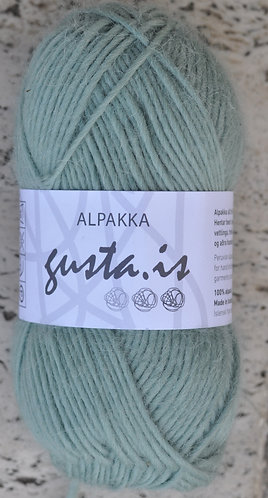 8200- Green,  Gústa Alpaca yarn