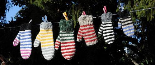 Rok mittens - knitting kit