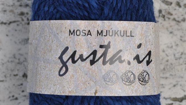 5500 Dökkblár Mosa mjúkull garn