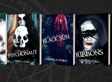 The Starblood Series, Carmilla Voiez - Horror Feature