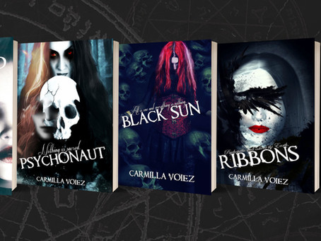 The Starblood Series, Carmilla Voiez - Horror Feature