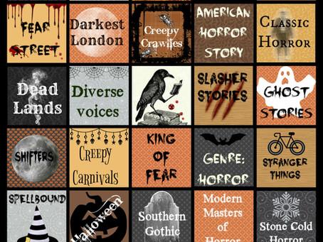 Booklikes Halloween Bingo
